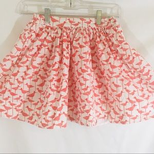 Kate Spade Red White Size 10 Skirt Elastic Waist